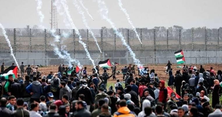 اسرائیلی فورسز کی فائرنگ 1 فلسطینی نوجوان کو شہید کردیا